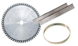 Sierras cinta, sierras circulares y cuchillas para cepilladora / regruesadora